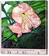 E.ruth Fine Art Poster 1 Canvas Print