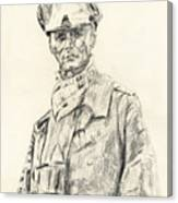 Erwin Rommel Canvas Print