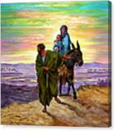 Escape Into Egypt Canvas Print