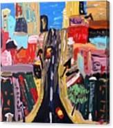 Escape To The City Canvas Print