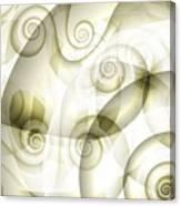 Escargot Canvas Print