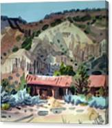 Espanola On The Rio Grande Canvas Print