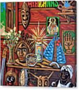 Espiritualidad Africana Canvas Print