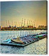 Esplanade Dock 023 Canvas Print