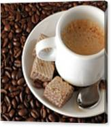 Espresso Coffee Canvas Print