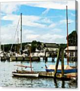 Essex Ct Marina Canvas Print