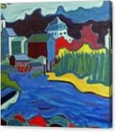Essex River Canvas Print