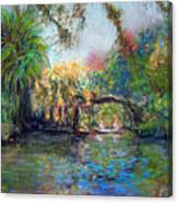 Estero River At Koreshan Canvas Print