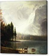 Estes Park, Colorado, Whyte's Lake Canvas Print