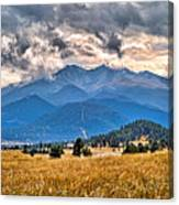 Estes Park From Glen Haven 3 Canvas Print