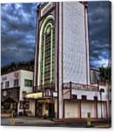 Estes Park Theater Canvas Print