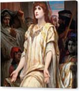 Esther Before Ahasuerus Canvas Print