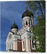 Estonia Church  Canvas Print