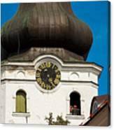 Estonian Baroque Onion Dome Canvas Print