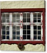 Estonian Window Canvas Print