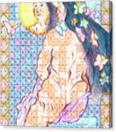 Estrella De La Manana Morning Star Canvas Print