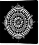 Estrella Mandala Canvas Print