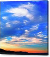 Estuary Skyscape Canvas Print