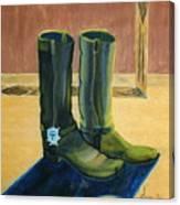 Et Par Stoevler 1996 Canvas Print