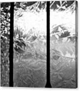 Etched In Glass Canvas Print