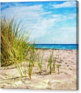 Etchings In The Sand Canvas Print