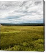 Eternal Yellowstone Canvas Print