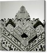 Ethereal Beauty Of Wat Arun Canvas Print