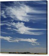 Ethereal Clouds Canvas Print