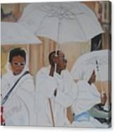 Ethiopian Travelers Canvas Print