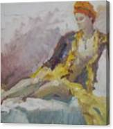 Ethnic Beauty Canvas Print