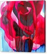 Etoile De Holland Rose Canvas Print