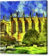 Eton College Chapel Art Canvas Print