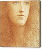 Etude Anglaise Canvas Print