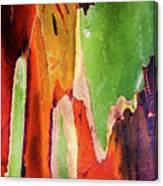 Eucalyptus Tree Bark Two Canvas Print