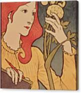 Eugene Grasset Canvas Print