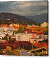 Eugene In Fall Canvas Print