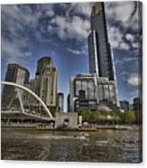 Eureka Tower-view From Cityside Canvas Print