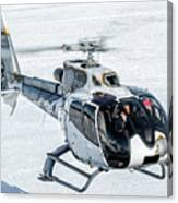Eurocopter Ec130 With Fantastic Livery Canvas Print