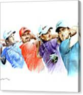 European Golf Champions Race 2017 Canvas Print