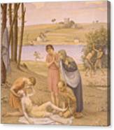 Eurydice Bitten By The Snake Canvas Print