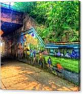 Evanston Grafitti Art. Canvas Print