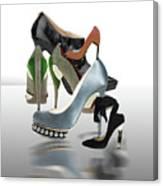 Eva's Shoes Canvas Print