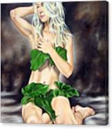 Eve In The Garden Ll Canvas Print