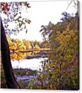 Eve On The Lake Canvas Print