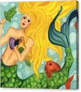 Eve The Mermaid Canvas Print