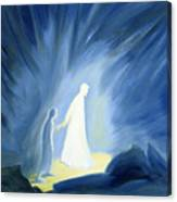 Even In The Darkness Of Out Sufferings Jesus Is Close To Us Canvas Print