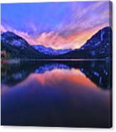 Evening At Fallen Leaf Lake Canvas Print