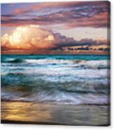 Evening At Kailua Beach Canvas Print