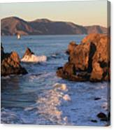 Evening At Land's End Canvas Print