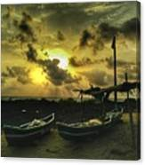 Evening Beach Canvas Print